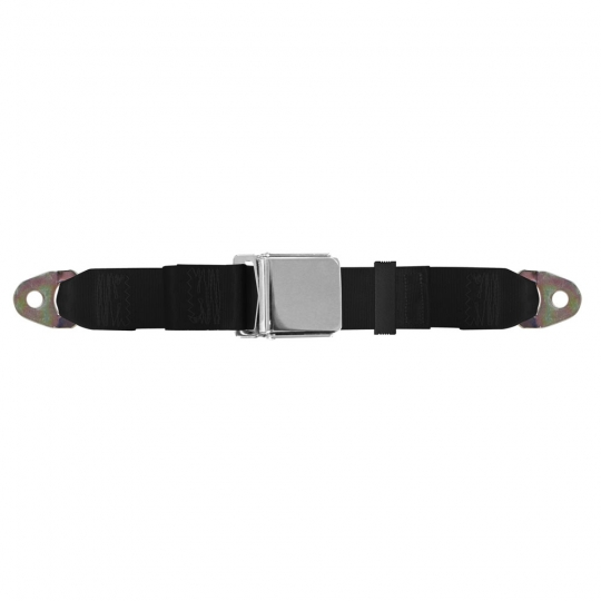 Lap Seat Belt, Chrome Lift Latch, 60 Inch Length: Replacement ... Utube Golf Cart Seat Belts Html on