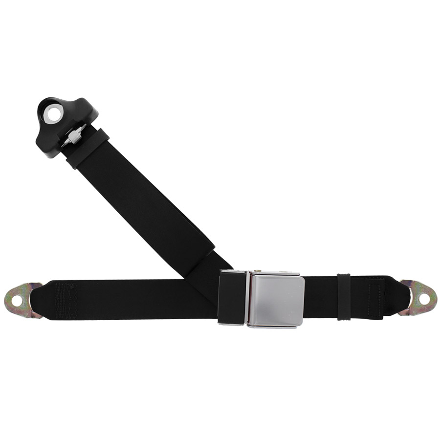 3 Point Seat Belt With Chrome Lift Latch