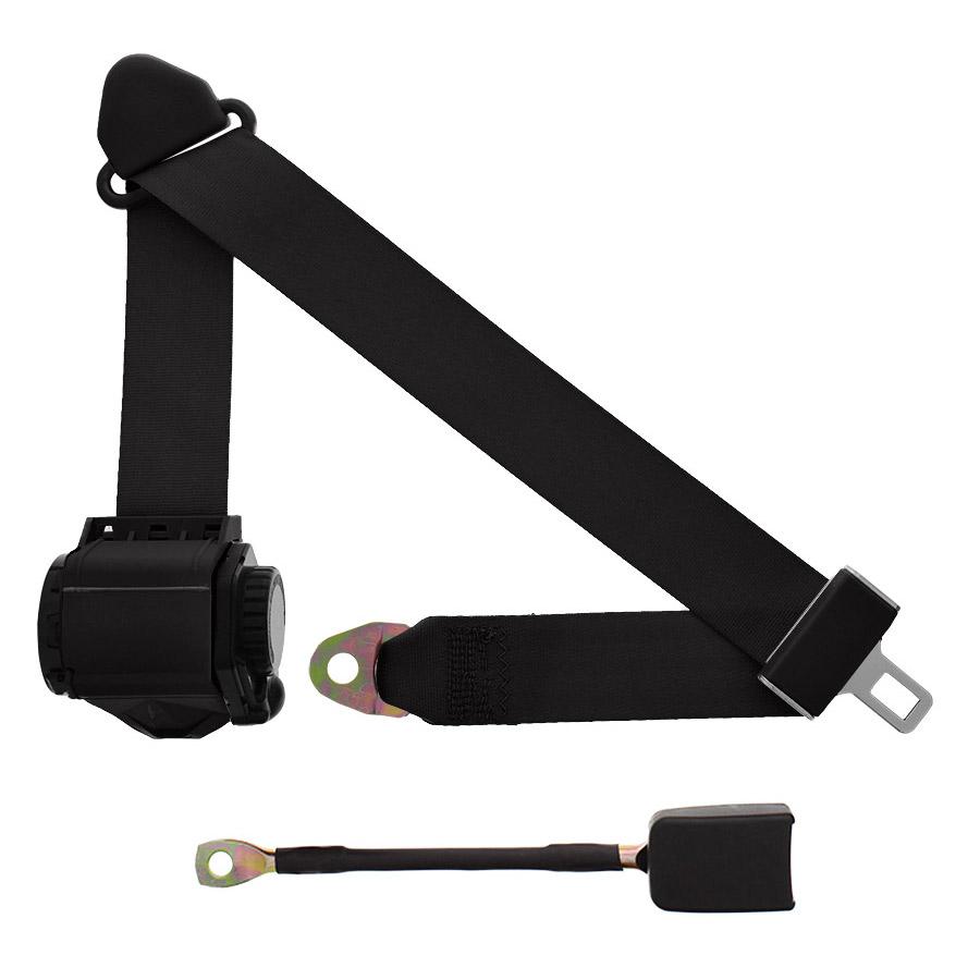 3 Point Retractable Lap Amp Shoulder Seatbelts