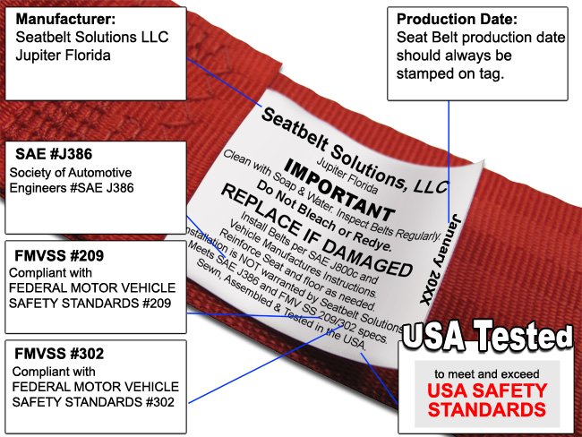 Seat Belt Safety Regulations   SeatBeltsPlus.com