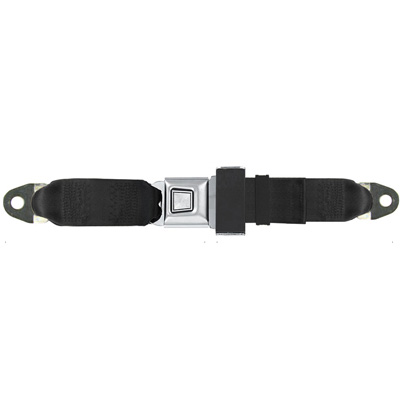 Similar To Original Gm Muscle Cars Metal Push On Seat Belts Feature A Buckle With Starburst Pattern The In Center